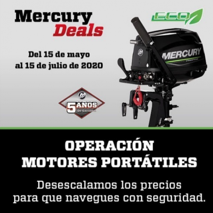 oferta-Motores-portátiles-Mercury-Deals-
